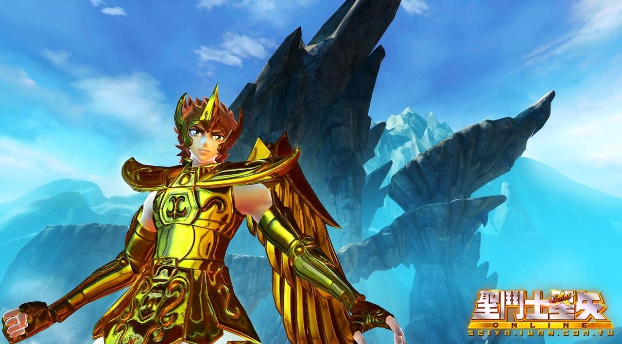 7 日前才發表純金版的射手座聖衣,擁有華麗的大翅膀,將霸氣體現的淋漓盡致!