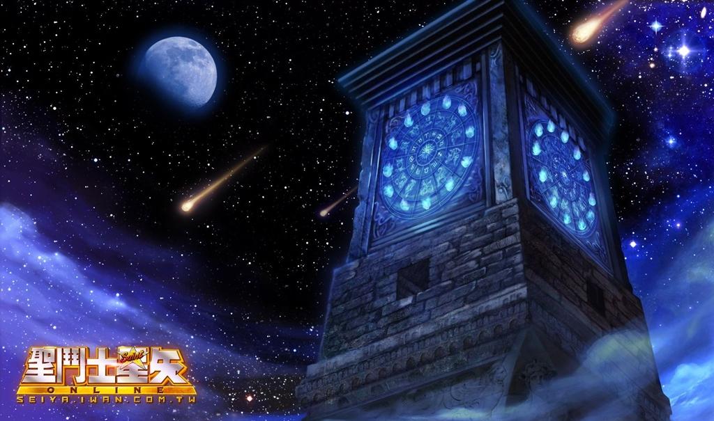 3 遊戲中經典重現了黃金十二宮的鐘樓