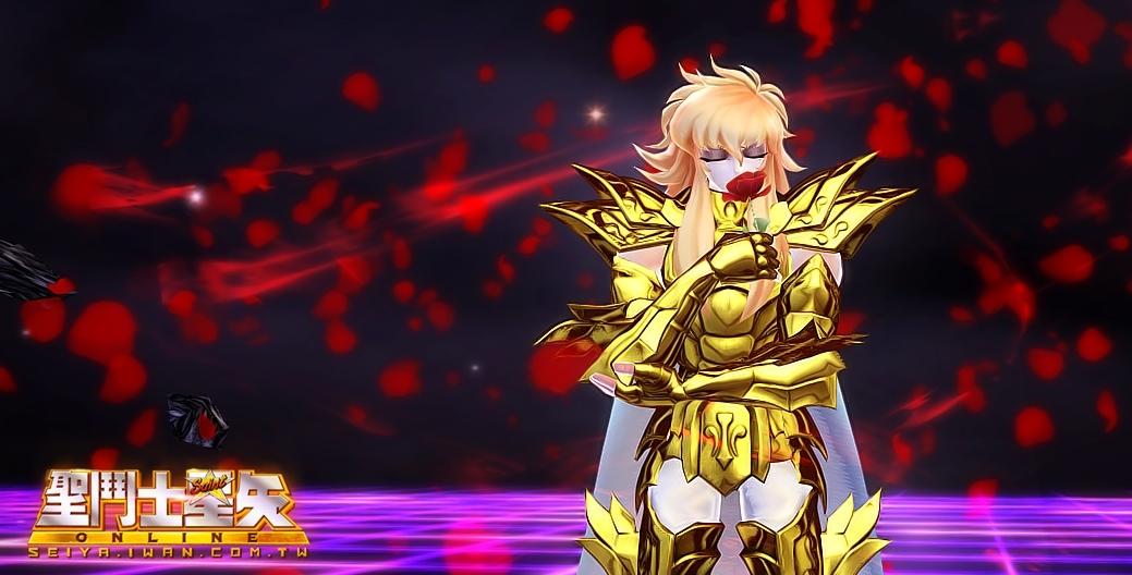 8 最美的雙魚宮「阿布羅狄」絕招是極其兇狠冶艷的皇家惡魔玫瑰