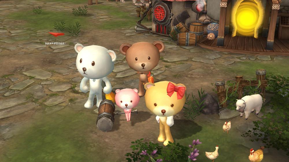RO玩家進入遊戲創角並完成新手任務後,將可獲贈一套商城時裝與道具