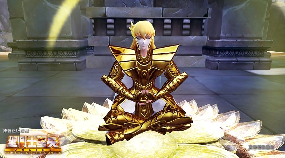 5 處女座-沙加被稱為「最接近神的聖鬥士」,聖衣典雅且高貴,創角時玩家可以嘗試女性角色穿著的模樣。