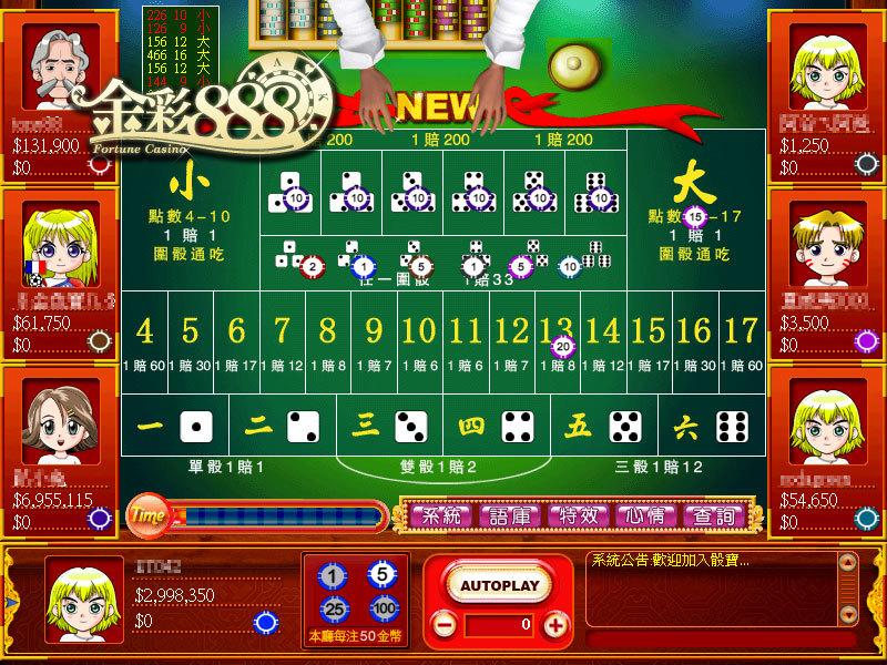 戲谷《金彩888》超值體驗活動持續加開,骰寶、百家樂、7PK等七款遊戲等你來挑戰賭神爭霸戰