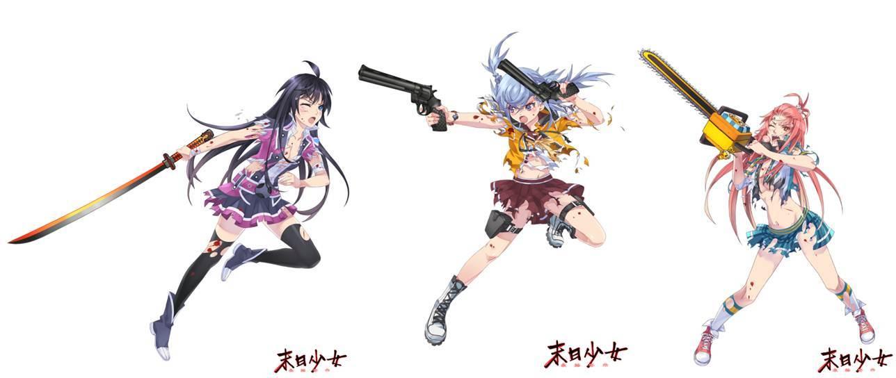 01 「白石薰」、「波間七海」、「銀鏡雪華」三大主角破損戰鬥!