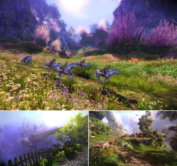 02-奇幻陣營資源豐沛,擁有超然的美景