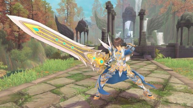 幻想神域2.1 11月5日 圣剑降临 成长武器大放送