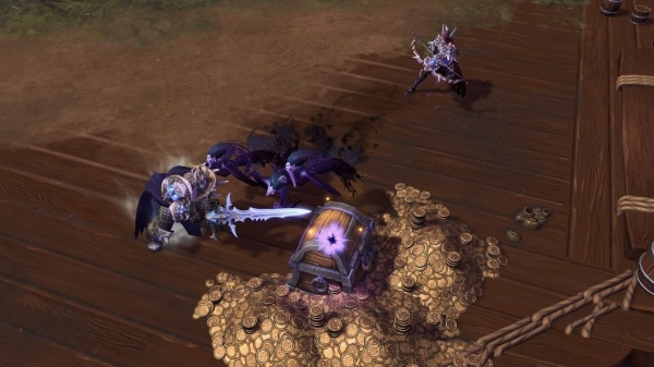 「索命妖魂」_喚出一波報喪女妖,對前方所有敵人造成中等傷害