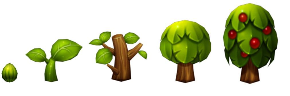 图片图片 小树的简笔画画法小树发芽简笔画 简笔