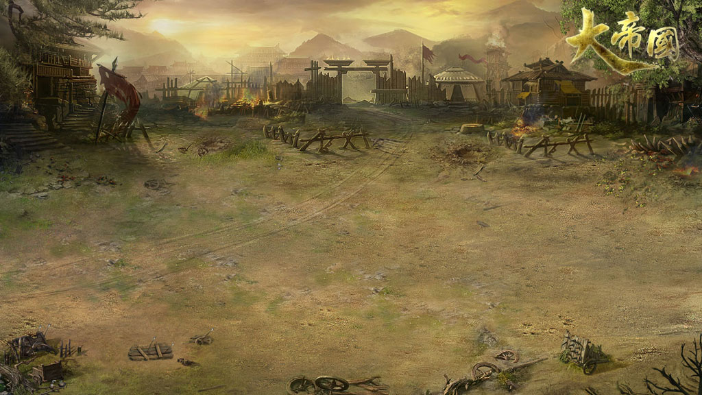 在重重迷雾笼罩下的世界地图,藏匿著161座城池,3座蛮族城池及其拥有不