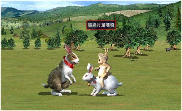 《三國群英傳Online》中秋節超級玉兔