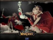 《魔獸世界》美女玩家唯美血精靈