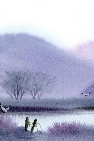 类)壁纸 水墨风景